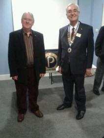 Roger Busk and Paul Flint