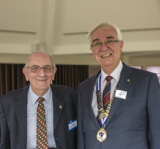 David Carwardine and Paul Flint