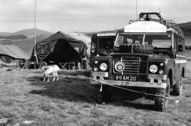 MRT Base Camp C 1980s