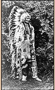 Cayuse Chief approx 1909