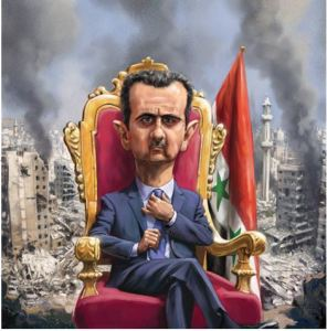 Assad on ThroneCapture