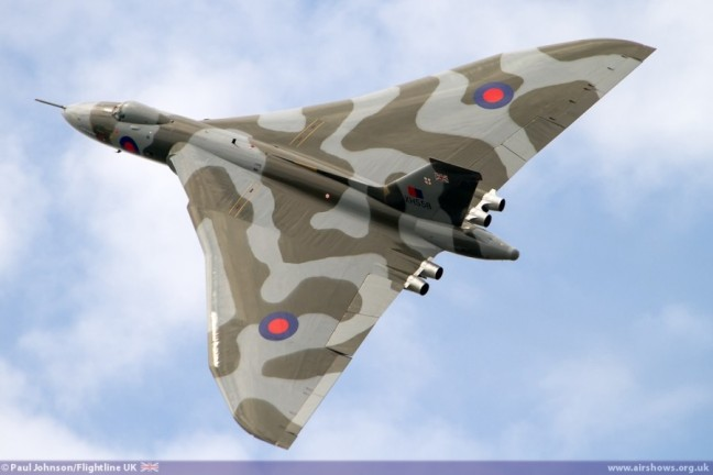 Avro Vulcan in flight