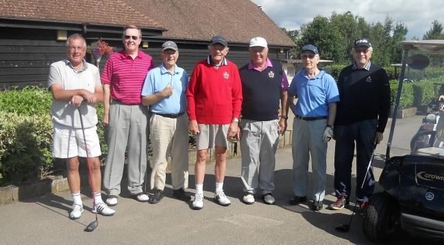 Probus Golf Day 1.8.17