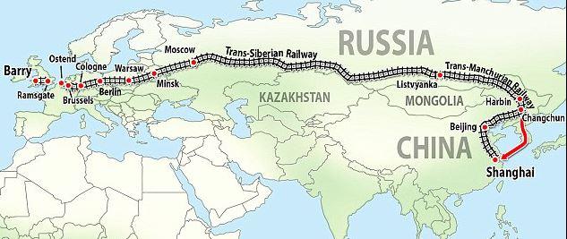 Liz Barron's route to Shanghai