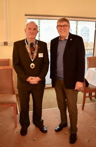 Probus Dr Nick Waring & John Pitman
