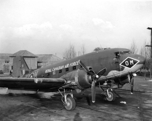 Dakota of 120 Transport Wg RCAF Oct 1945 - Copy