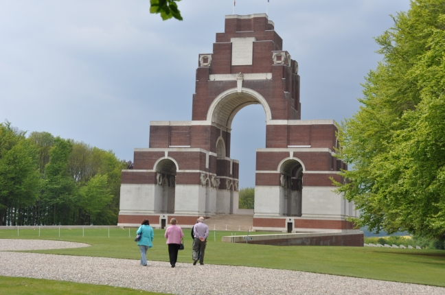 Thiepval Memorial designed by Lutyens