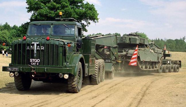 Mighty Antar Tank Transporter Capture