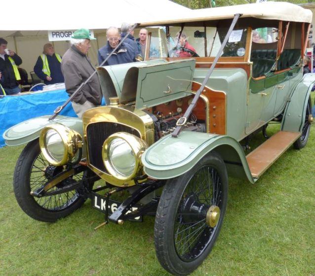 Thornycroft car