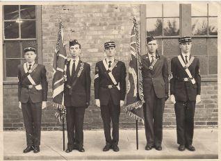 Boys' Brigade Colour Party Capture