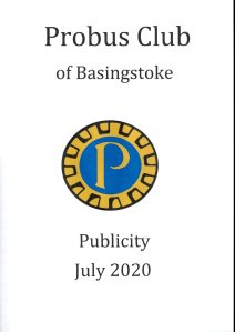 Probus Publicity July 2020